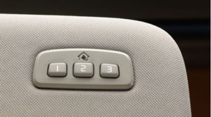 Volvo HomeLink Buttons
