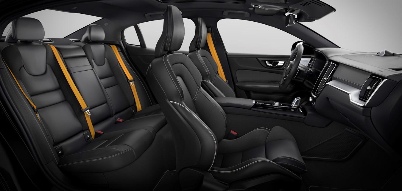 New Volvo S60 Polestar Engineered interior